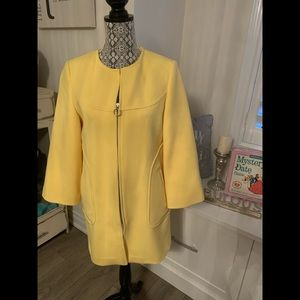 Yellow Dress Jacket